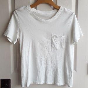 Everlane white cotton tee XS